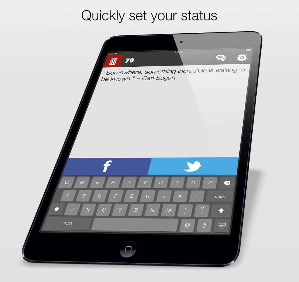 Fast Status iPad